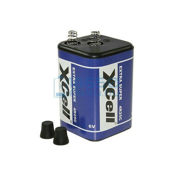 XCell 4R25 Féltartós Cink-Szén Elem