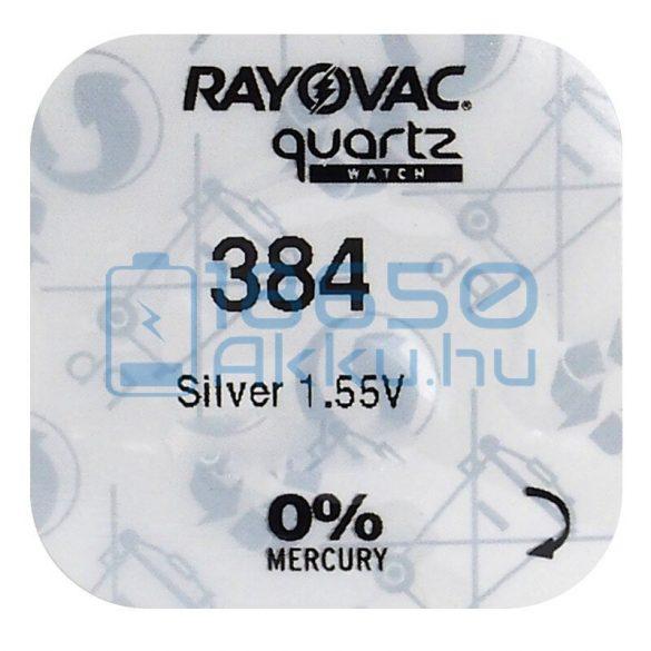 Rayovac 384 Ezüst-Oxid Gombelem