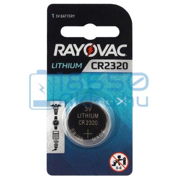 Rayovac CR2320 Lítium Gombelem
