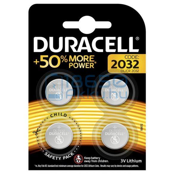 Duracell CR2032 Lítium Gombelem (4db)