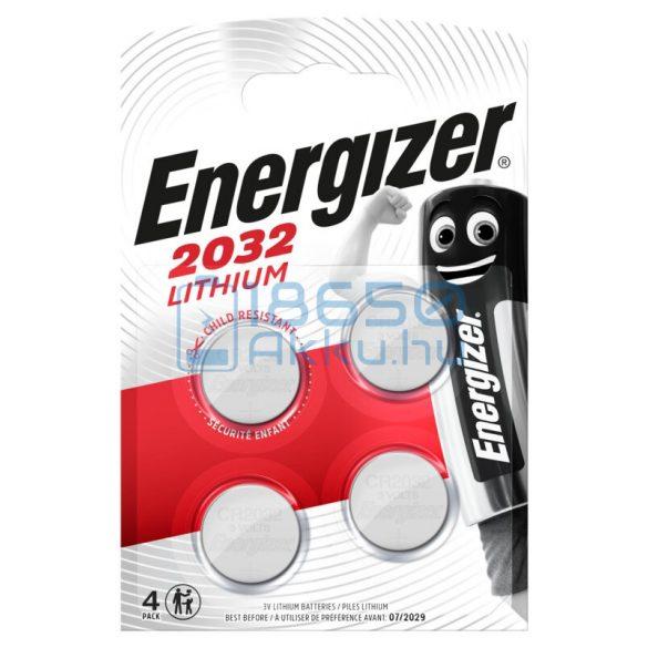 Energizer CR2032 Lítium Gombelem (4db)