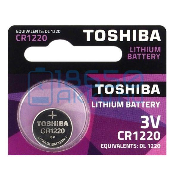 Toshiba CR1220 Lítium Gombelem