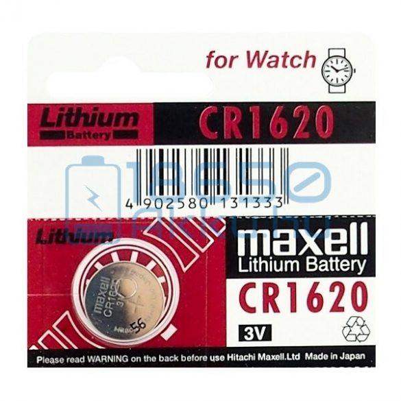 Maxell CR1620 Lítium Gombelem