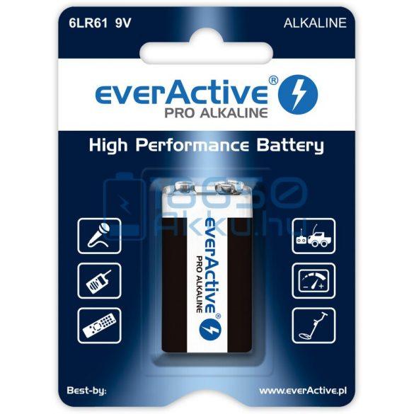 EverActive Pro 6LR61 9V Alkáli Elem