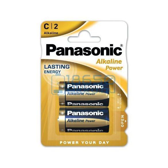 Panasonic Alkaline Power Alkáli Tartós (C / LR14) Baby Elem (2db)