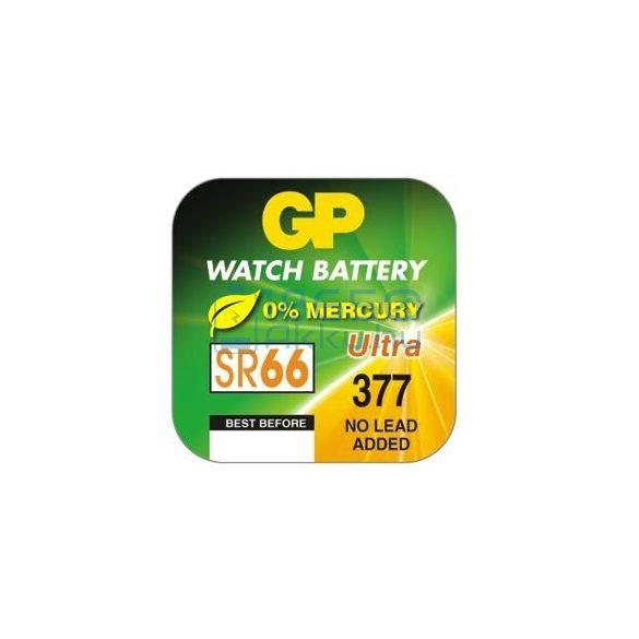 GP 377 / SR66 Ezüst-Oxid Gombelem