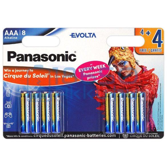 Panasonic Evolta Alkáli Tartós (AAA / LR03) Mikro Elem (8db)