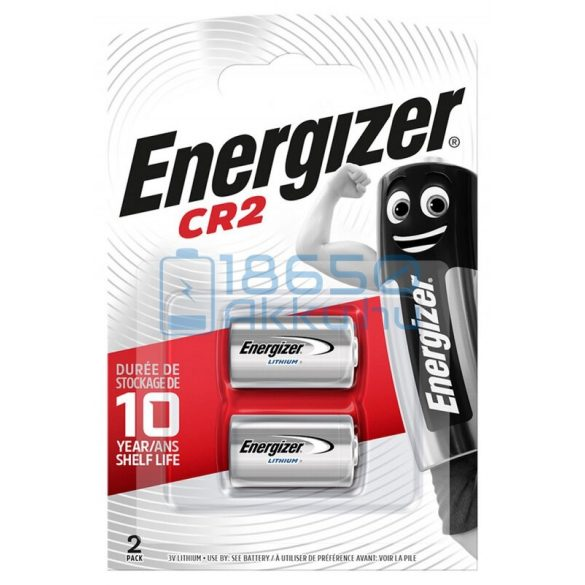 Energizer CR2 Lítium Elem (2db)