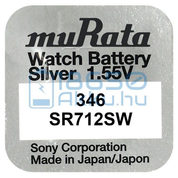Murata 346 / SR712SW Ezüst-Oxid Gombelem