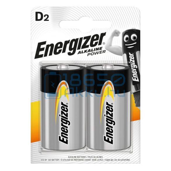 Energizer Alkaline Power Alkáli Tartós (D / LR20) Góliát Elem (2db)