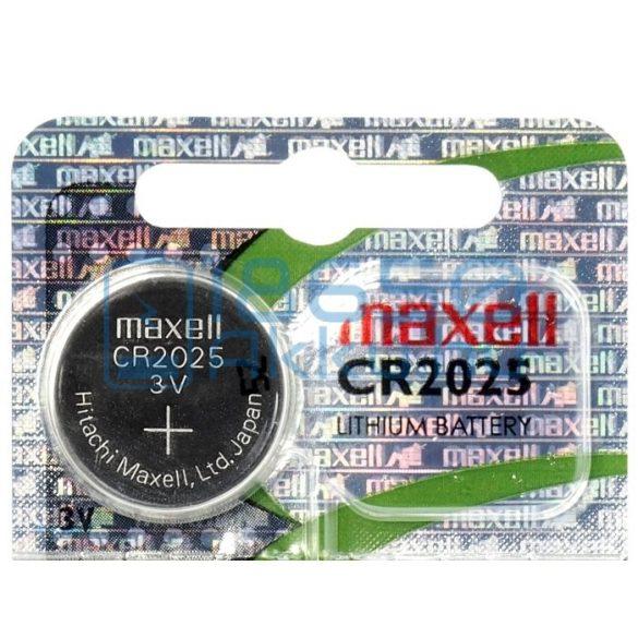 Maxell CR2025 Lítium Gombelem (Hologram)