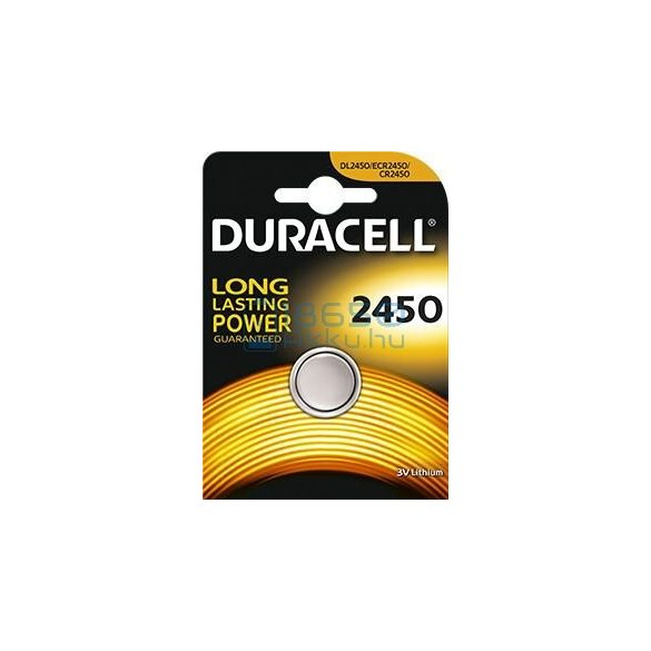 Duracell CR2450 Lítium Gombelem