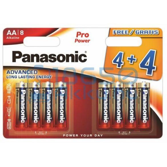 Panasonic Pro Power Alkáli Tartós (AA / LR6) Ceruza Elem (8db)