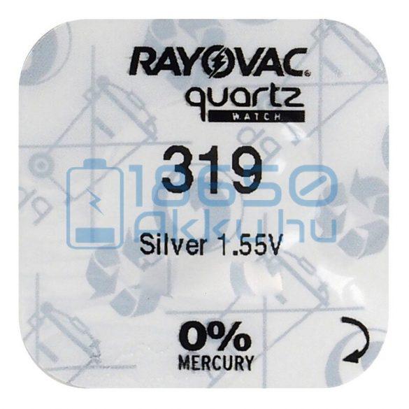 Rayovac 319 Ezüst-Oxid Gombelem