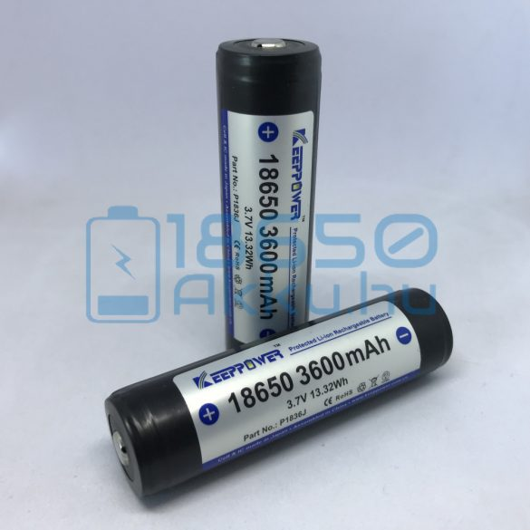 KeepPower 18650 3600mAh 8A