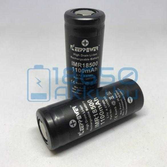 KeepPower IMR18500 1100mAh 10A
