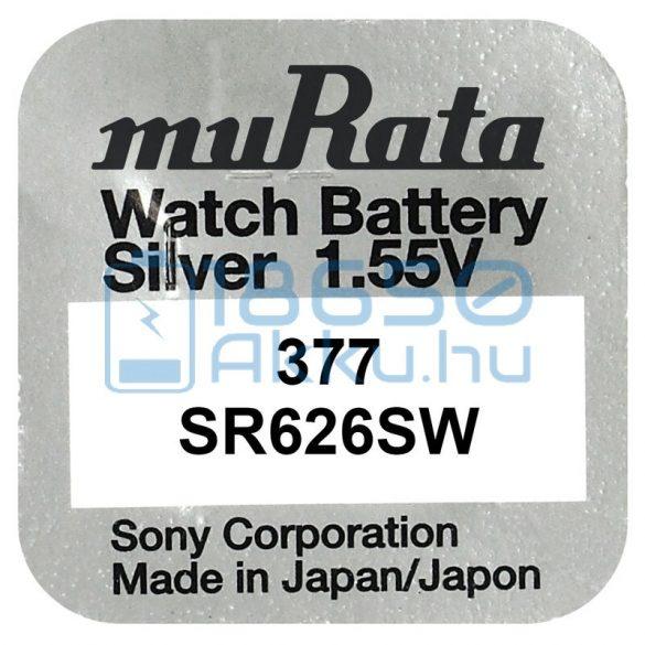 Murata 377 / SR626SW Ezüst-Oxid Gombelem