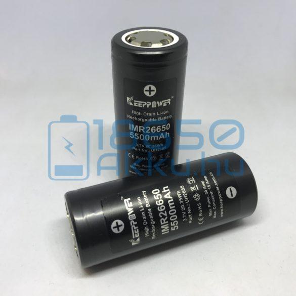 KeepPower IMR26650 5500mAh 15A