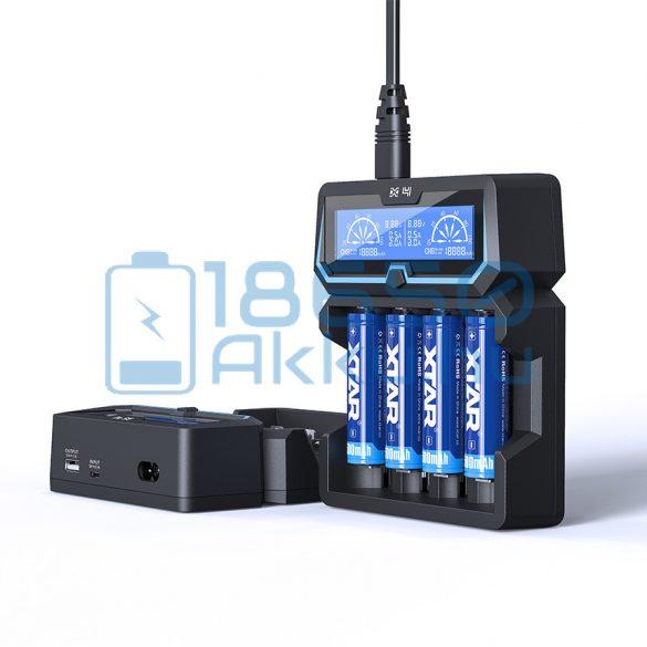 XTAR X4 Extended Akkumulátor Töltő