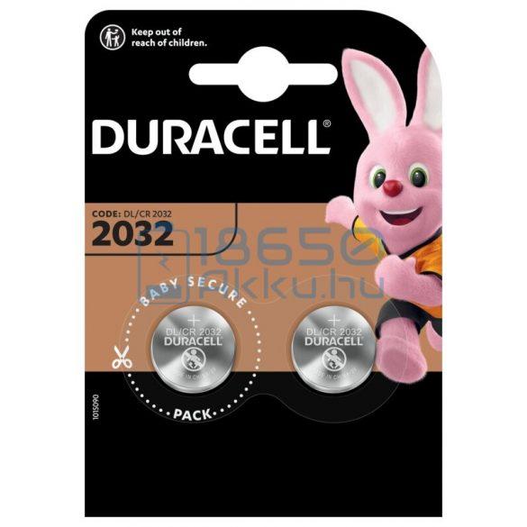 Duracell CR2032 Lítium Gombelem (2db)