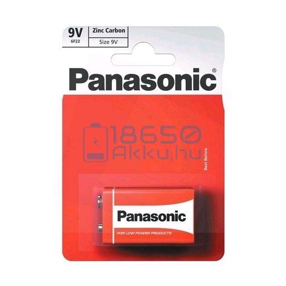 Panasonic 6F22 9V Féltartós Cink-Szén Elem