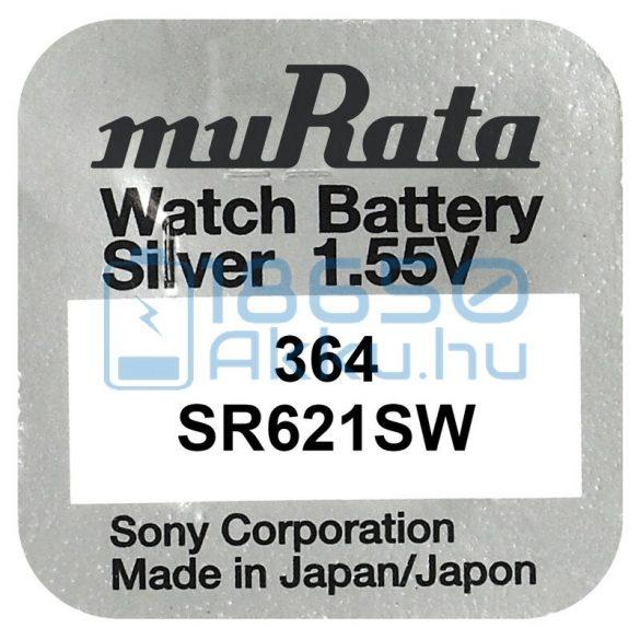 Murata 364 / SR621SW Ezüst-Oxid Gombelem