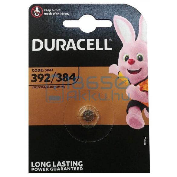 Duracell 384/392 / SR41 Ezüst-Oxid Gombelem