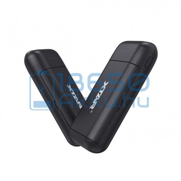 XTAR PB2C Fekete Akkumulátor Töltő és Powerbank