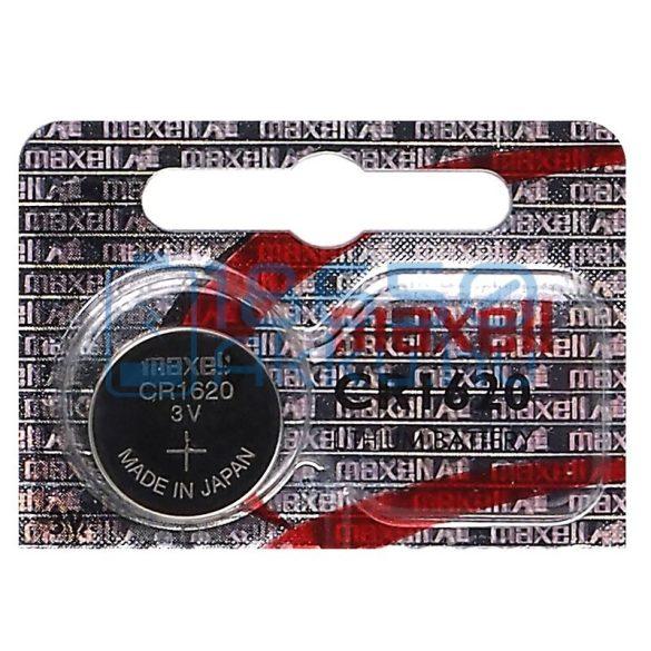 Maxell CR1620 Lítium Gombelem (Hologram)