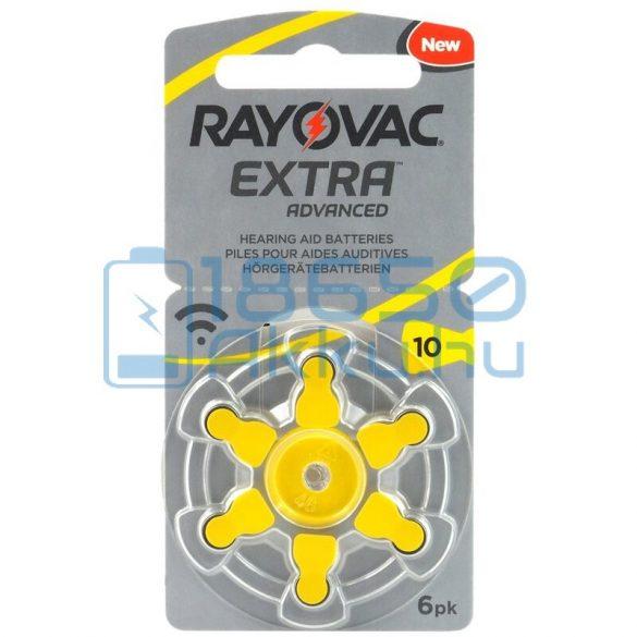 Rayovac Extra Advanced 10 Hallókészülék Elem