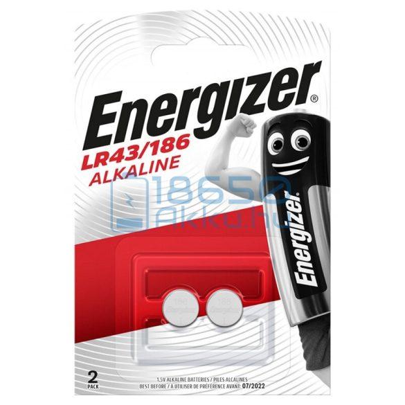 Energizer AG12 / LR43 / 186 Alkáli Gombelem (2db)