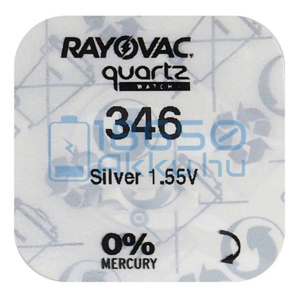 Rayovac 346 Ezüst-Oxid Gombelem
