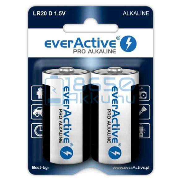 EverActive Pro Alkáli Tartós (D / LR20) Góliát Elem (2db)