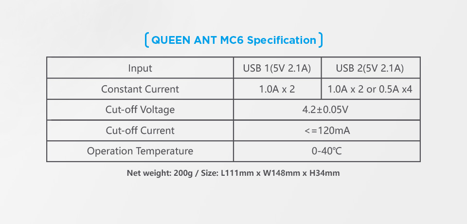 XTAR MC6 QUEEN ANT
