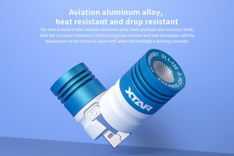 XTAR UL1-120 USB Lámpa